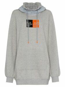 SJYP training hoodie - Grey