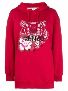 Kenzo Tiger oversized hoodie - Red
