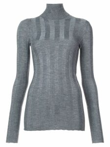Derek Lam Inez Long Sleeve Turtleneck - Grey