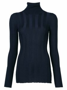 Derek Lam Inez long sleeve turtleneck jumper - Blue