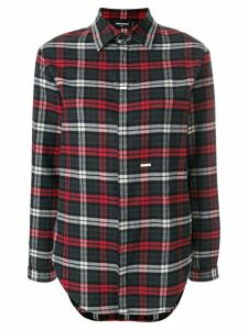 Dsquared2 checked long sleeve shirt - Grey