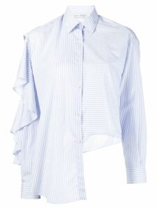 Each X Other ruffled striped shirt - Blue
