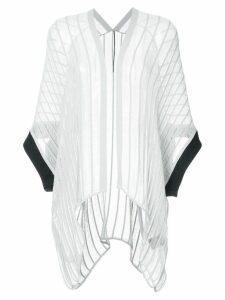 Masnada asymmetric open top - Grey