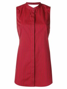 3.1 Phillip Lim knotted back striped top - Red