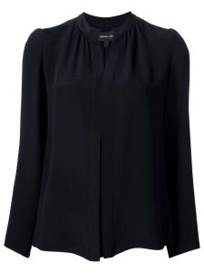 Derek Lam Kara Long Sleeve Blouse - Black