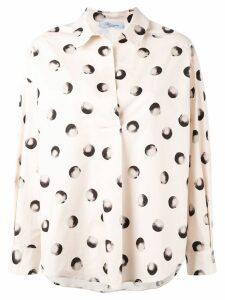 Blumarine printed shirt - NEUTRALS