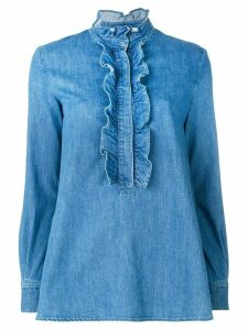 Stella McCartney denim Camicia blouse - Blue
