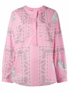 Natasha Zinko printed shirt top - Pink