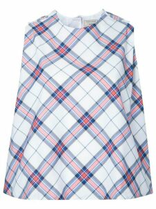 Maison Kitsuné 'Holly' checked top - Multicolour