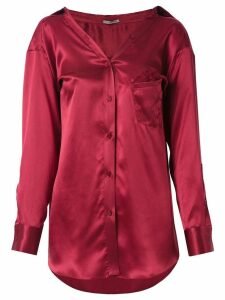 Martha Medeiros Barbara shirt - Red
