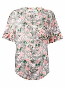 Julien David floral print shirt - Multicolour