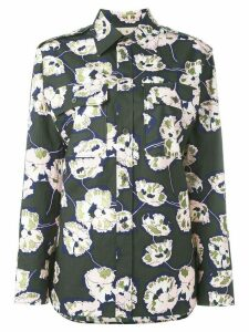 Marni Whisper print shirt - Green