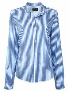 RtA striped-print regular-fit shirt - White