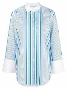 Equipment striped long shirt - Blue