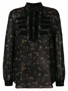 Coach Wildflower print military shirt - Black