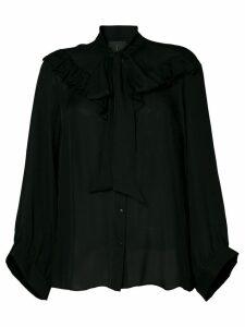 Nili Lotan Vanna blouse - Black