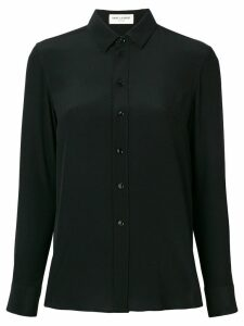 Saint Laurent classic fitted shirt - Black