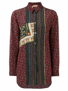 Nº21 floral button front shirt - Multicolour
