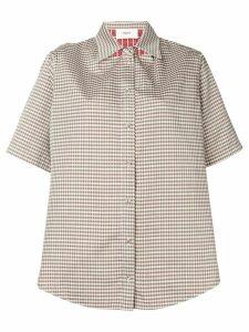 Ports 1961 checked short sleeved shirt - Green