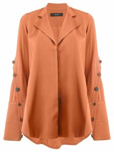 Ellery Explosive side slit shirt - Brown