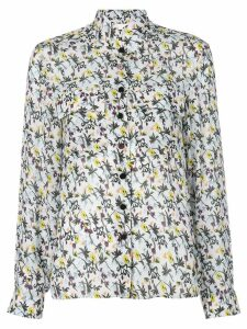Chloé high neck floral print shirt - Multicolour