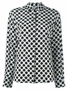 MSGM polka-dot print shirt - White