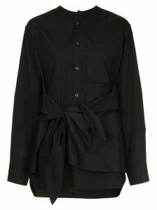 Y's knot detail shirt - Black