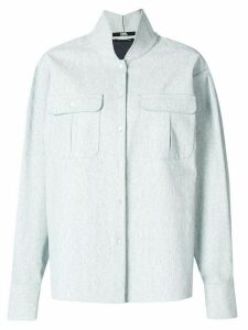 Karl Lagerfeld long-sleeve fitted shirt - White