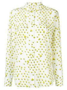Equipment tennis ball-print shirt - White