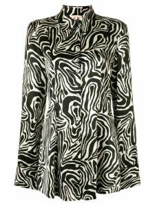 Marni zebra print shirt - Black