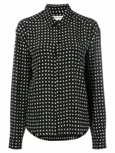 Saint Laurent star-print shirt - Black