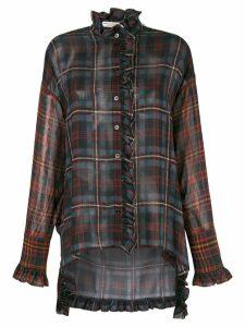 Philosophy Di Lorenzo Serafini ruffle trim shirt - Black