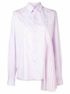 Each X Other asymmetric design shirt - PINK