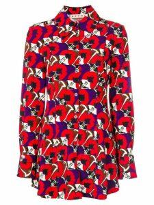 Marni printed shirt - Red