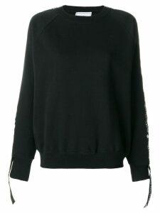 Forte Dei Marmi Couture logo banded sweatshirt - Black