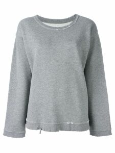 RtA Beal distressed sweatshirt - Grey