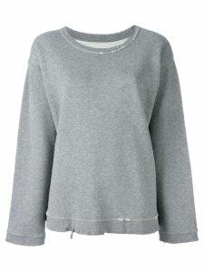 RtA Beal distressed sweatshirt - Grey