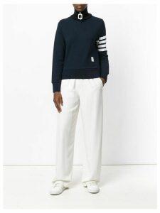 Thom Browne 4-bar stripe pullover - Blue