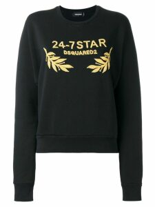 Dsquared2 24-7 logo sweatshirt - Black