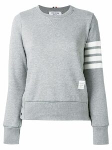 Thom Browne 4-bar stripe sweatshirt - Grey