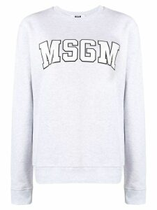 MSGM logo sweatshirt - Grey