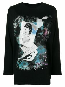 Mm6 Maison Margiela printed sweatshirt - Black