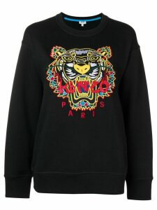 Kenzo embroidered tiger sweatshirt - Black