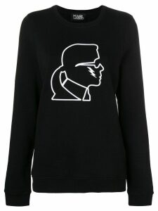 Karl Lagerfeld Karl lightning bolt sweatshirt - Black