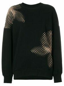 Ioana Ciolacu printed sweatshirt - Black