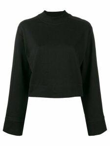 Y-3 cropped sweatshirt - Black