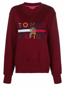 Hilfiger Collection logo sweatshirt - Red