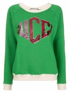 Gucci logo sweatshirt - Green