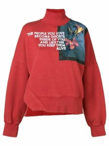 Each X Other floral print sweatshirt - Red