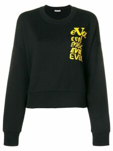 Aalto Evol printed sweatshirt - Black